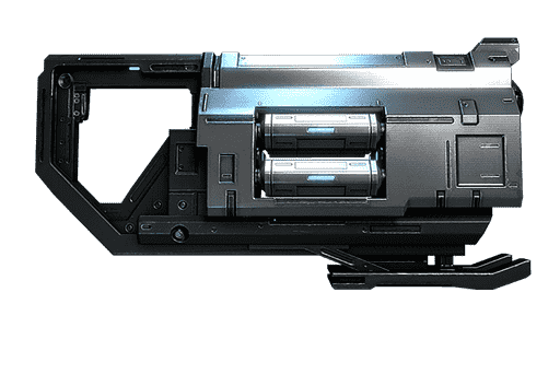 Warframe secondary weapon: Detron