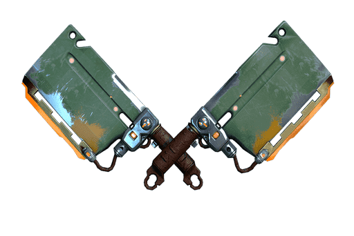 Warframe melee weapon: Dual Cleavers